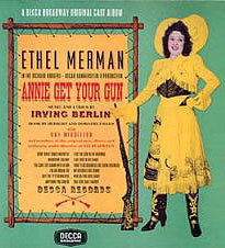 Playbill of Annie Get Your Gun starring Ethel Merman