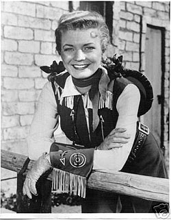Gail Davis as Annie Oakley in the 1950s